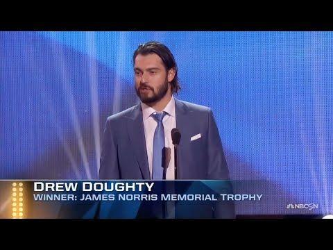 VID: Drew Doughty Wins the 2016 Norris Trophy #WeAreAllKings