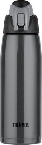 Thermos Vacuum Insulated 24-Ounce Stainless Steel Hydration Bottle, Charcoal Thermos http://www.amazon.com/dp/B003U583YW/ref=cm_sw_r_pi_dp_JqRXub1SQ0A5R