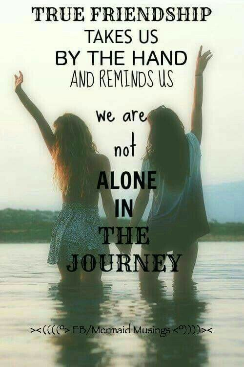 Ur not alone ur bffs are always with u no matter where u r
