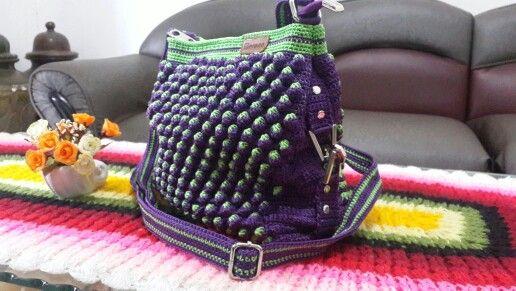 Strawberry crochet bag by Merona Crochet