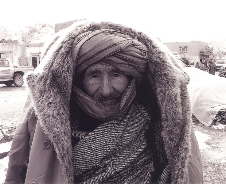 Wrapped up for winter, Afghanistan 2005