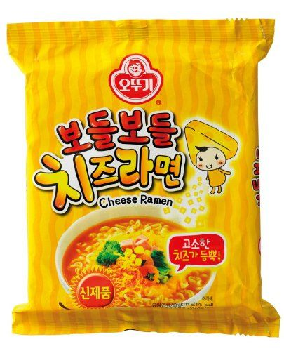 Ottogi Brand Instant Cheese Ramen 111g  Pack of 5 -- For more information, visit image link.