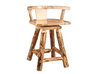 Shop For Barkman Rustic Pub Stool And Other Dining Room Chairs At High Country Furniture Design In Waynesville NC