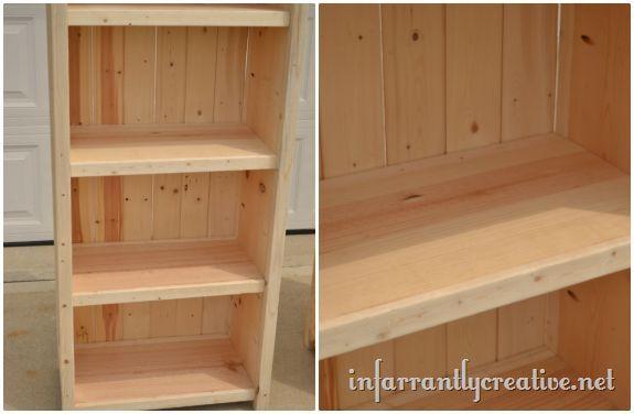 How to Make Tall Bookshelves