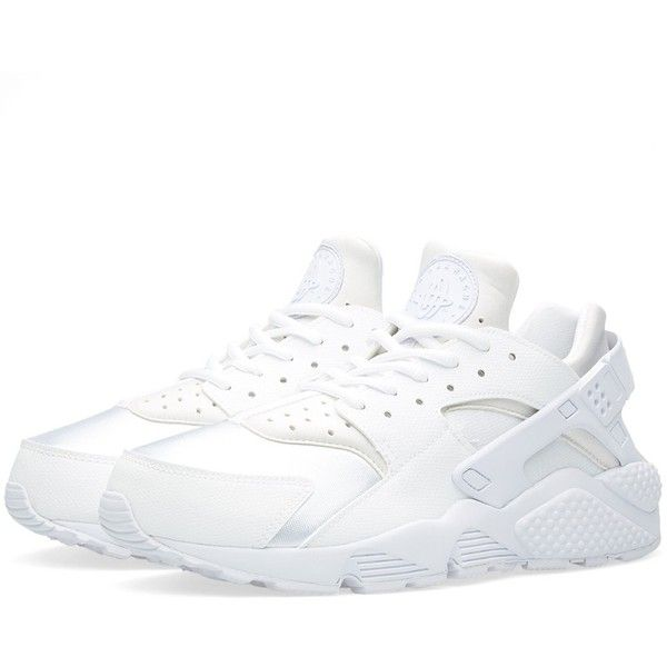 Nike W Air Huarache Run found on Polyvore featuring shoes, athletic shoes, traction shoes, light weight shoes, lightweight shoes, mesh shoes and low top