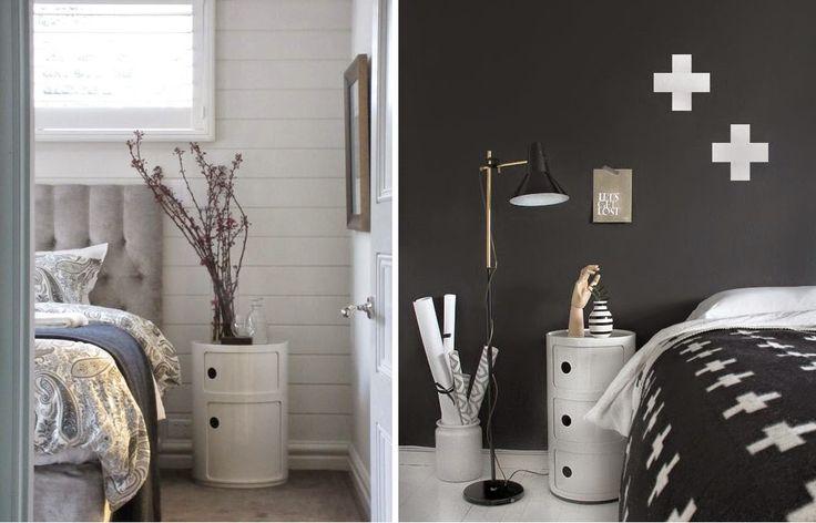 DESIGN | camera da letto in grigio