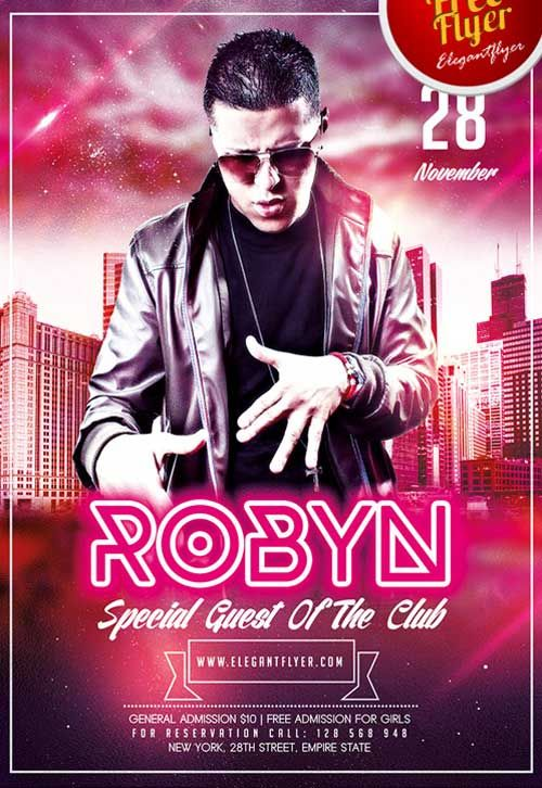Special Guest Free PSD Flyer Template - http://freepsdflyer.com/special-guest-free-psd-flyer-template/ Enjoy downloading the Special Guest Free PSD Flyer Template created by Elegantflyer!  #Beats, #Club, #Dance, #Dj, #EDM, #Electro, #Event, #Gold, #Music, #Night, #Nightclub