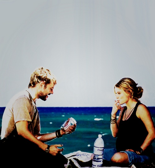 Lost. Charlie and Claire. <3
