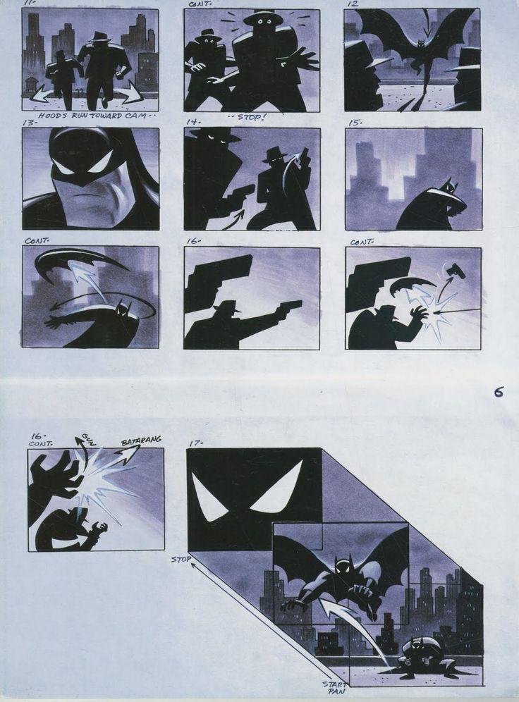 The Art and Animation of Kurt Hartfelder: Batman: The Animated Series Storyboards