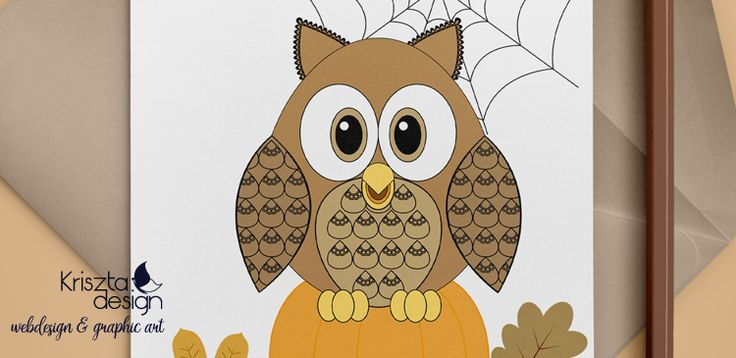 Free downloadable coloring page with owl