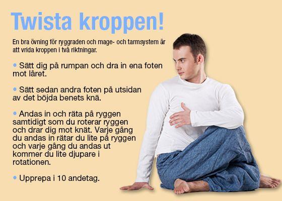 Övning: Twista kroppen!