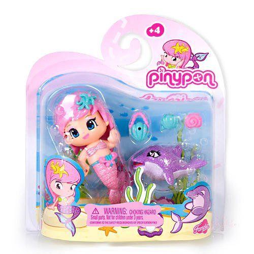 PinyPon Mermaid Doll