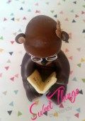 Grandpa teddy cake topper - sweetthingsbywendy.ca