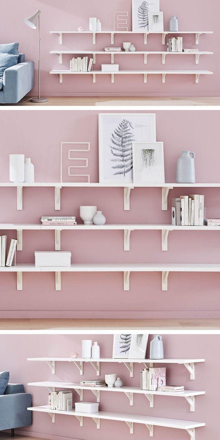 17 best ideas about wohnzimmer regal on pinterest | wandregal, Hause ideen