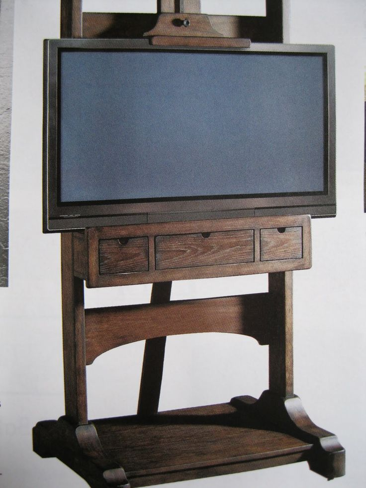 Easel Tv Stands Flat Screens Woodworking Projects Amp Plans