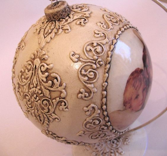 26 Best The Sounds Of Chrismas Images On Pinterest: 17 Best Images About DECOUPAGE CHRISTMAS BALLS On