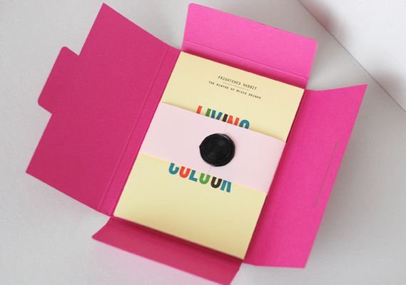 promotional pack from printers Glasgow Press (designed by Glasgow- based graphic designer Kerr Vernon)