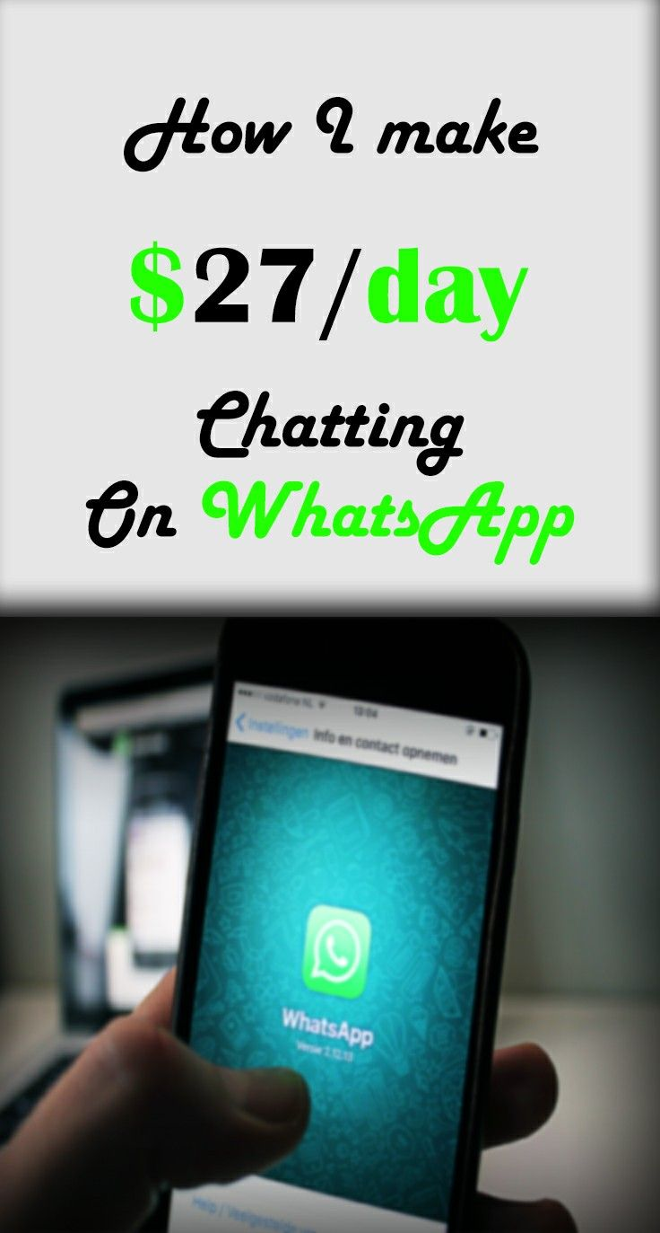 Now you can start earning money online by using WhatsApp as you do every day! #makemoney #passiveincome #extracash #workfromhome #jobformen #jobformoms #onlinework