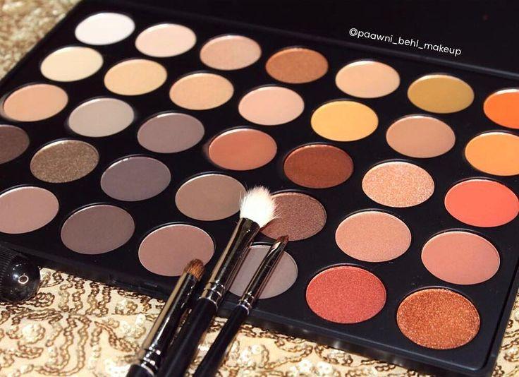Estamos obsesionadas con la #35O de #Morphe #Makeup #Eyeshadow #Shimmer #Matte #Metallic