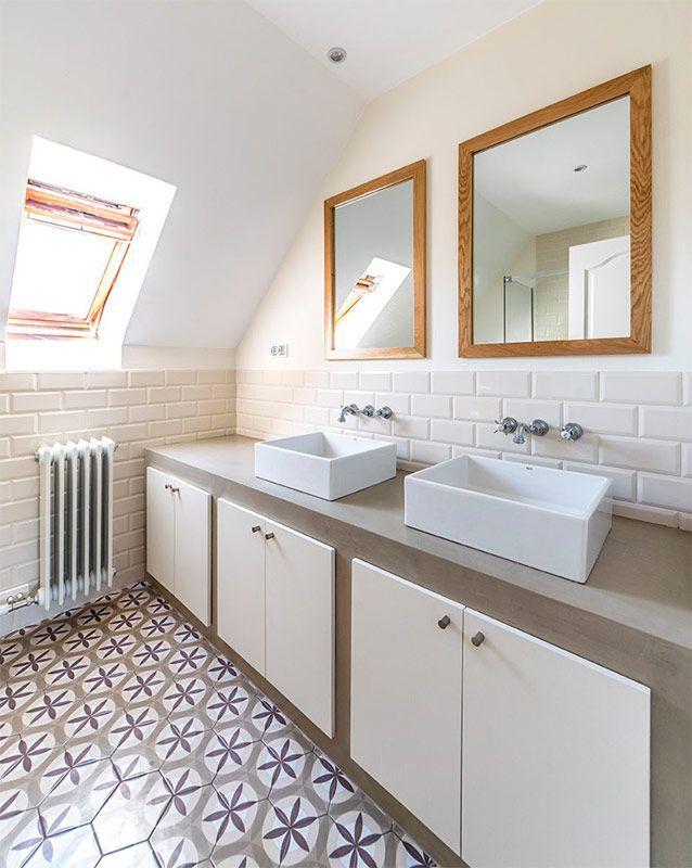 Badezimmer im skandinavischen Stil | Badezimmer Dekoration ...