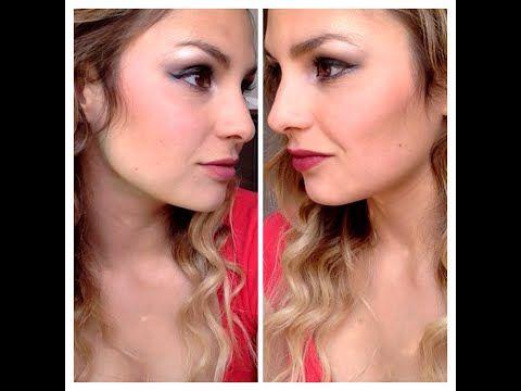 DIY Prom makeup - YouTube