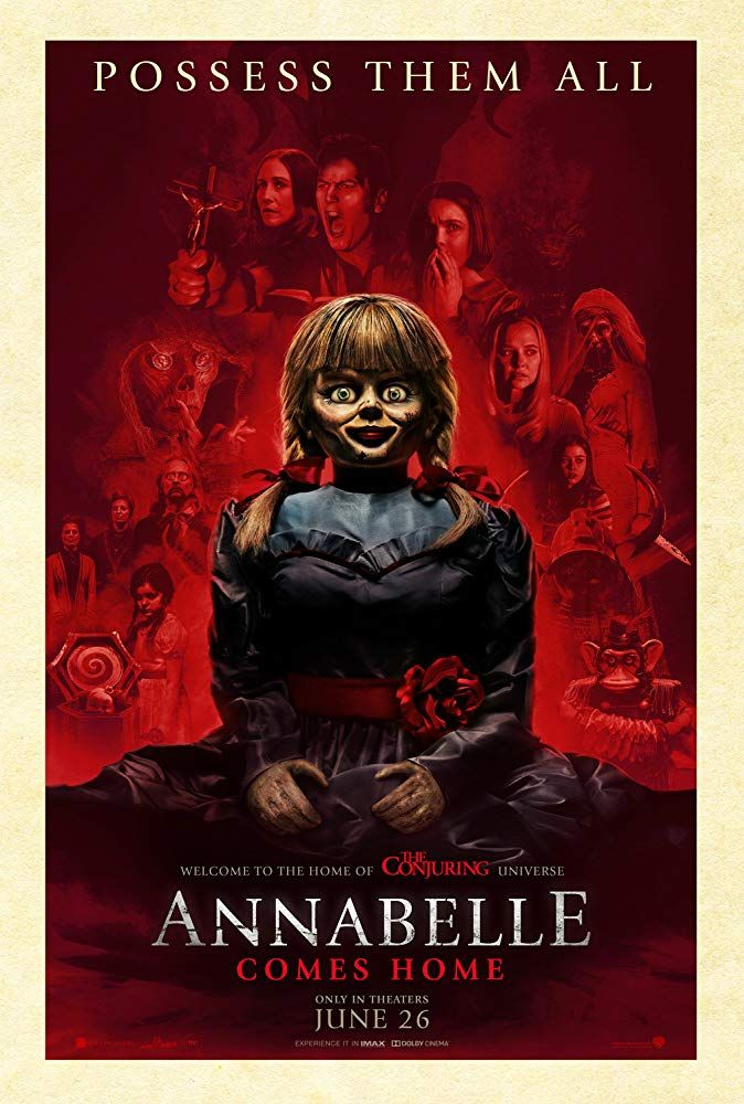 Annabelle Comes Home 2019 A Boogedy Boo Movie Review Lorraine Warren The Conjuring Full Movies