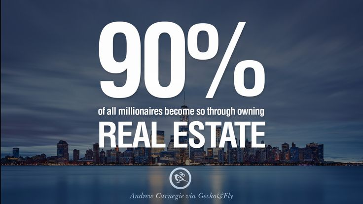 #DidYouKnow that 90% of millionaires become so through owning #realestate!  www.maverickinvestorgroup.com #RealEstateInvesting #BizHour