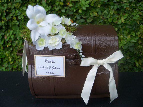 Wedding Card Holder / Rustic Wedding Envelope holder / Wish Card Trunk ...
