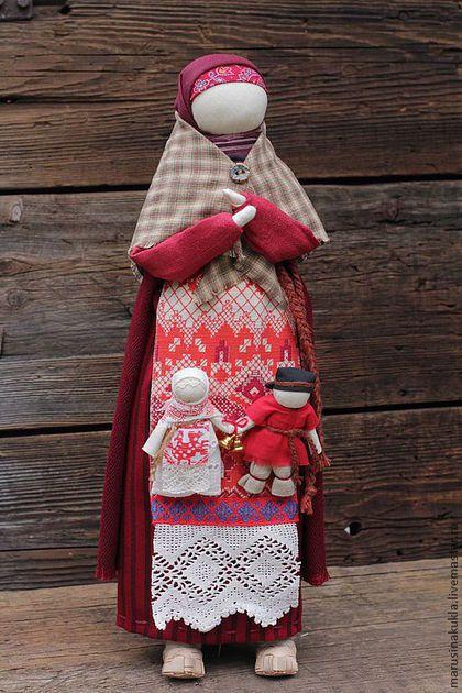 """Народные куклы ручной работы. Кукла """"Материнское благословение"""". Маруся…"""