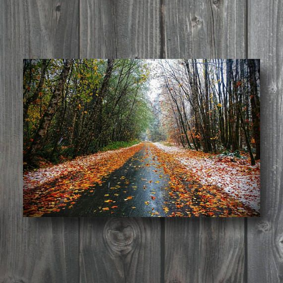 Check out this item in my Etsy shop https://www.etsy.com/ca/listing/574476151/autumn-road-canvas-3ft-by-2ft