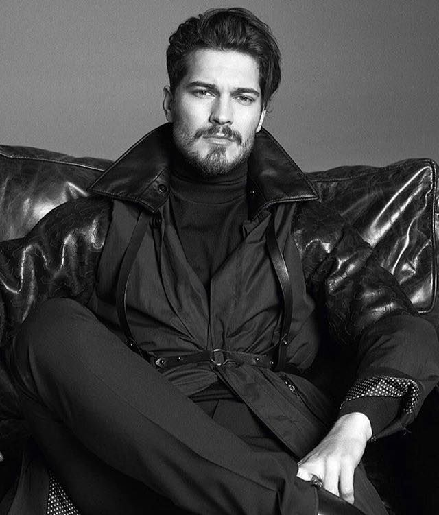 Çağatay Ulusoy on GQ Turkiye Magazine January 2016.
