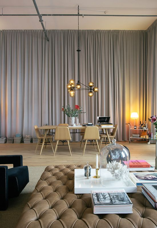 Stylish Living At An Old Leather Factory Near Stockholm