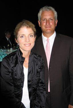 Caroline Kennedy & hubby