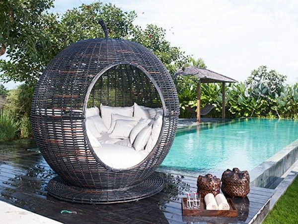 Outdoor Rattan Furniture Set Garden