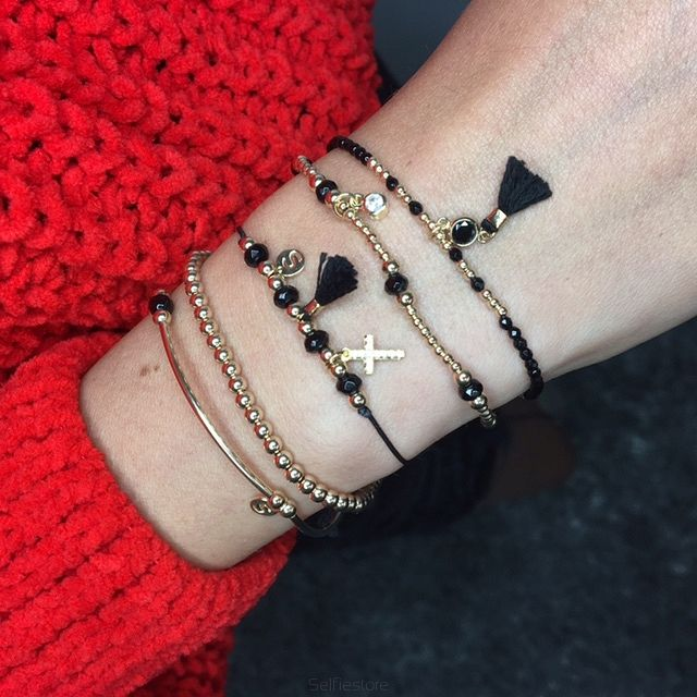 Bransoletka Diva Black - Selfie Jewellery - Sklep Internetowy