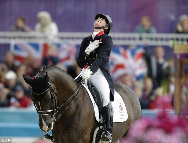 My Ambition: London 2012 Olympics: Great Britain dressage team win gold medal | Mail Online