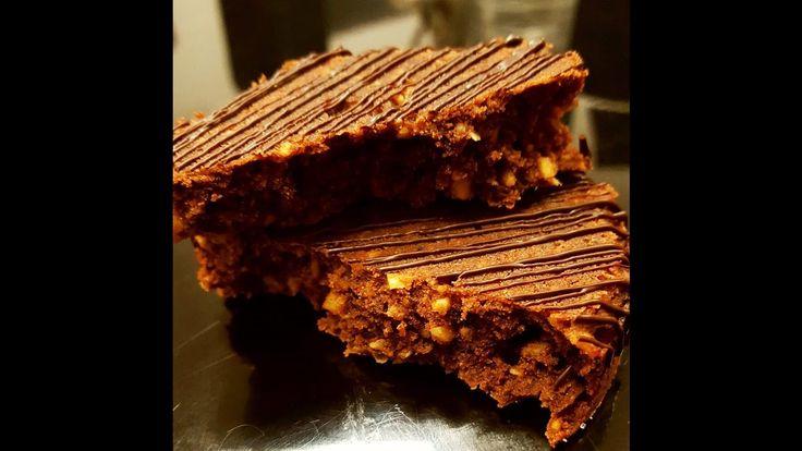 Sablés noisettes et chocolat