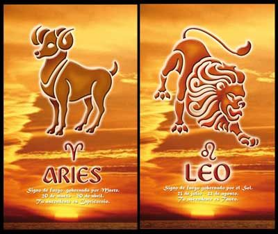 Aries and Leo Compatibility: Two Peas in a Pod