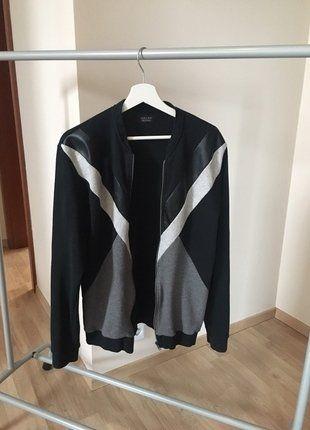 Kup mój przedmiot na #vintedpl http://www.vinted.pl/odziez-meska/bluzy/16417731-bluza-z-elementow-zara