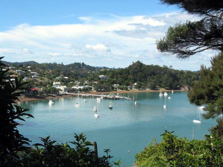 Russel, Bay of Islands. New Zealand