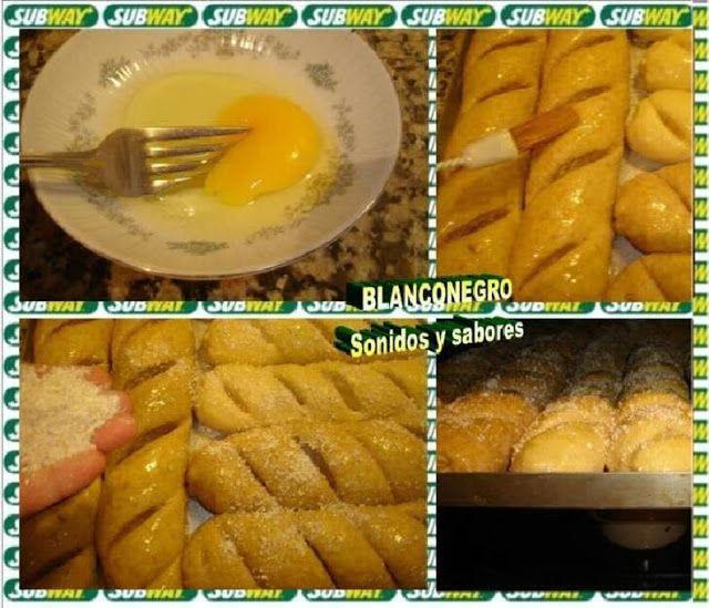 SONIDOS Y SABORES: Subway sandwich (pan hecho en casa)