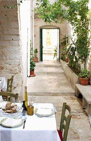 Ristorante Cibus, Ceglie Messapica, Puglia, Italy