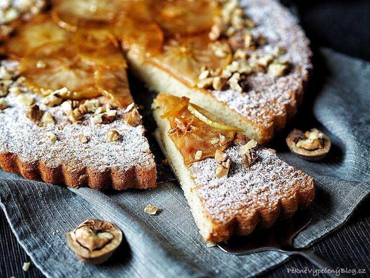 Lehký koláč s jablky