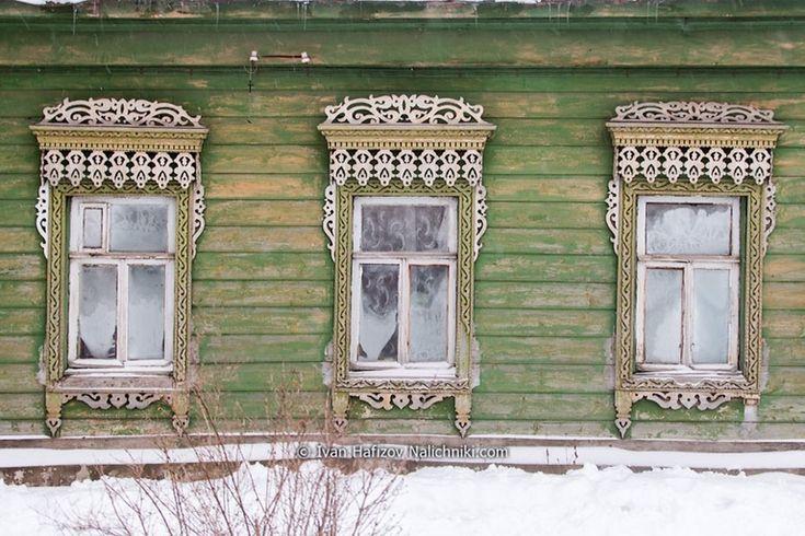 Виртуальный музей фотографий традиционных резных деревянных наличников. - страница 12