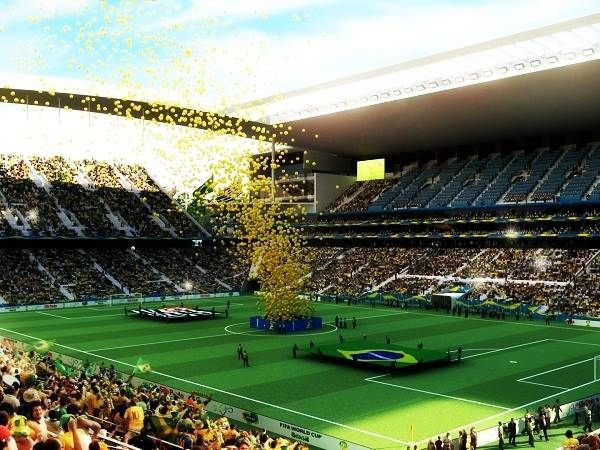 FIFA 2014 World Cup Ground Wallpaper Images, Photos, Pictures