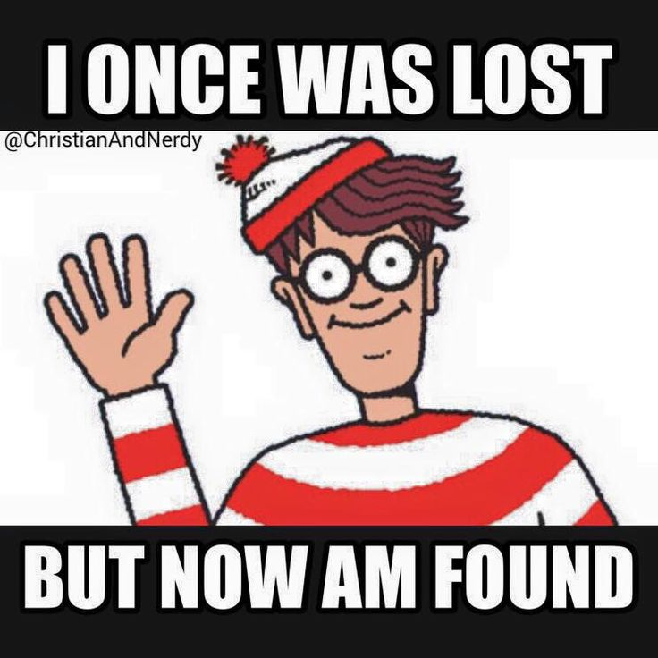 Lol, where's Waldo, I once was lost but now I'm found. Found on Christian and nerdy..........................Follow us for Clean, Family Friendly Christian Comedy and more. Click Visit button to see all our pics on Facebook. Thanks and God Bless...