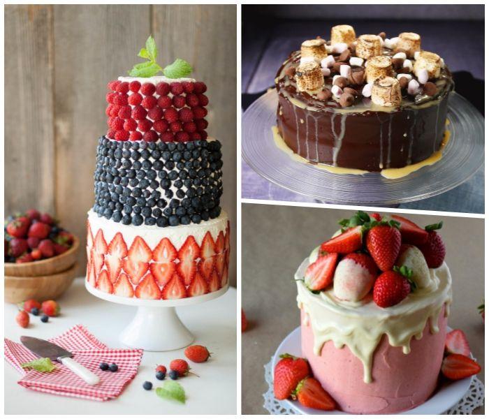 28++ Torte mit fruechten dekorieren ideen
