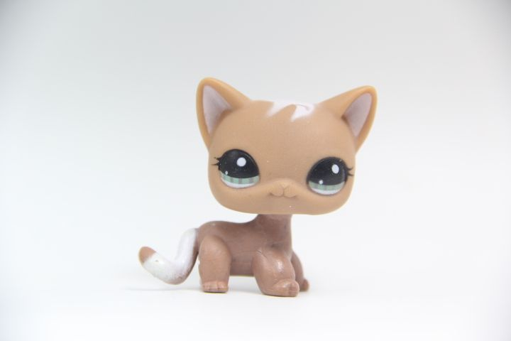 Littlest pet shop LPS Tan White Beige Brown Beagle Dog Puppy Blue Eyes #>=#>=#>=#>=#> Click on the pin to check out discount price, color, size, shipping, etc. Save and like it!