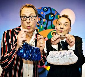 Vic Reeves and Bob Mortimer - Shooting stars, bizarre tv, an absolute classic