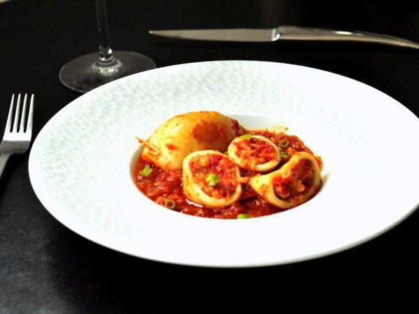calamars farcis la portugaise recette recettes de cuisine cuisine et cuisine. Black Bedroom Furniture Sets. Home Design Ideas